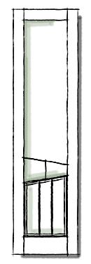 Benchcrest modern shutters HBC 102 configuration.