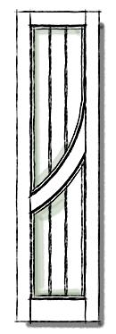 Benchcrest modern shutters HBC 5 configuration.