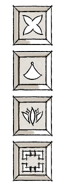 Decorative shutters sample cutout options two.