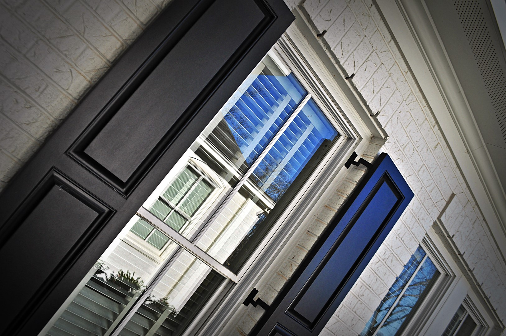 Exterior shutters for home or business.
