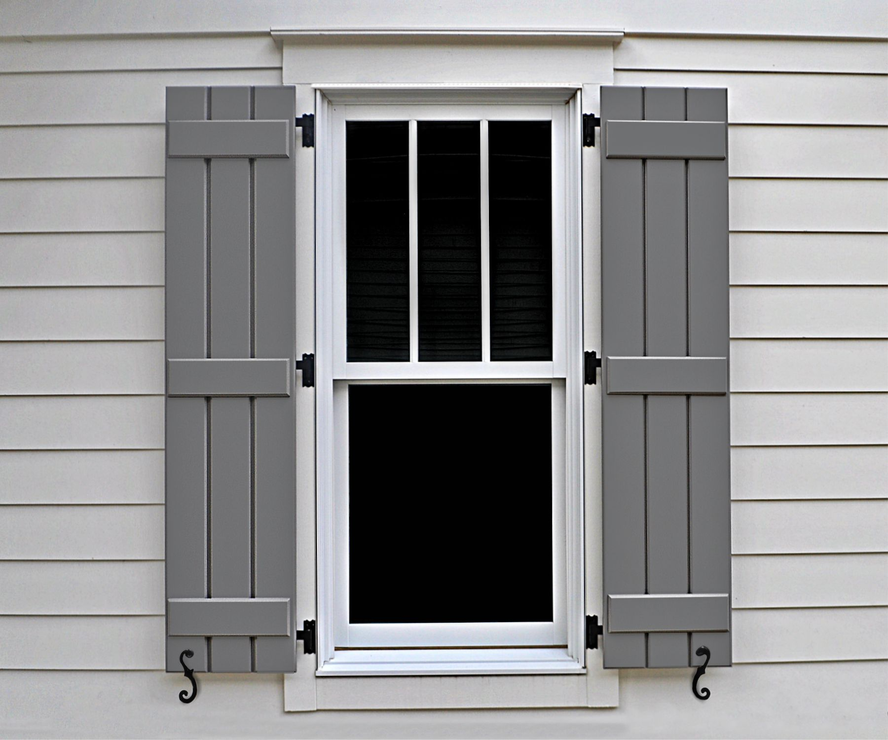 Dominion Custom Shutters are great additions to the exterior of your home or business.