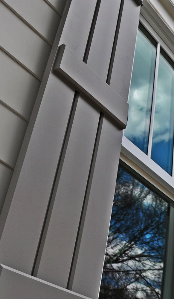 Custom shutters for your home's exterior.