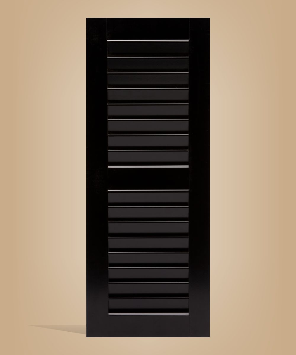 Louvered Exterior Affordable Shutter for your Home or business.